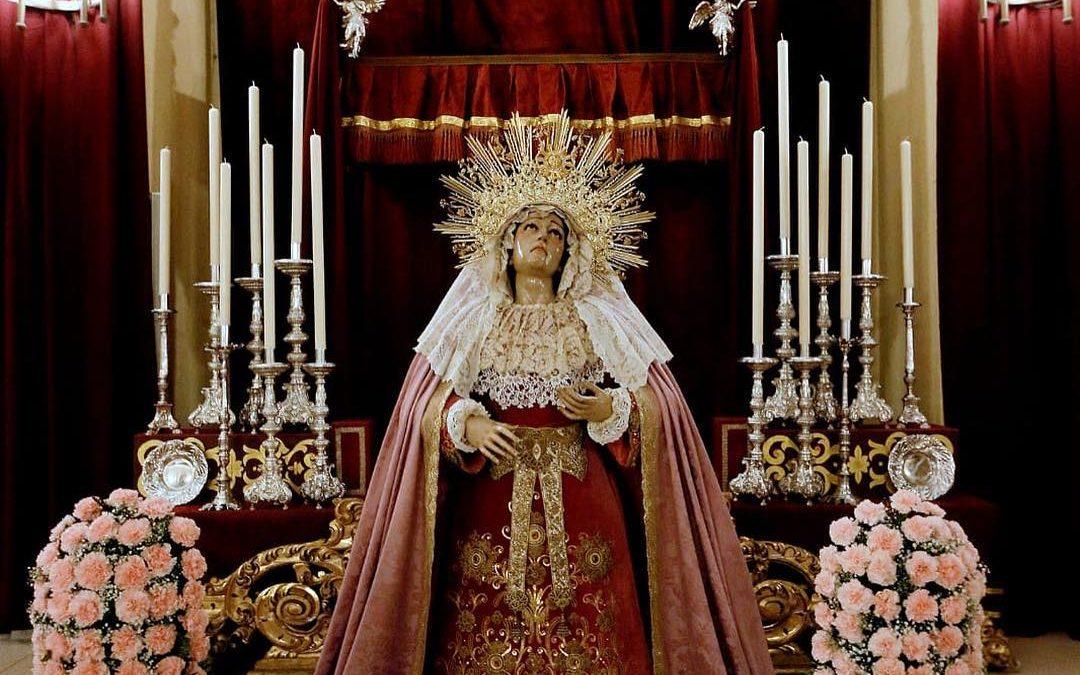 Festividad y Besamanos de la Virgen del Auxilio