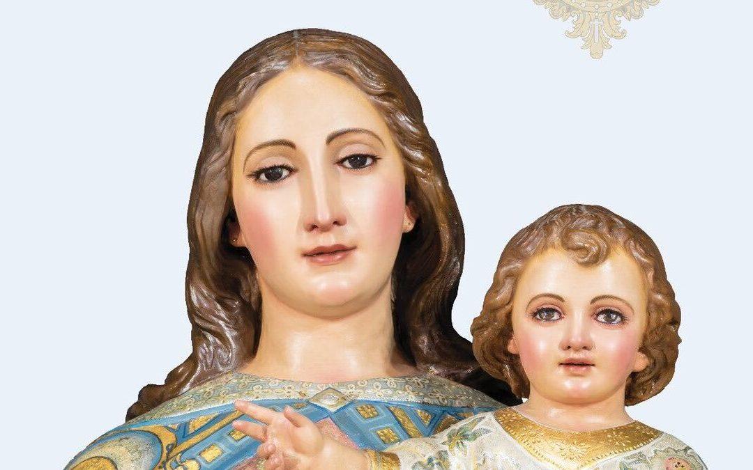 Preparados para celebrar el mes de María Auxiliadora