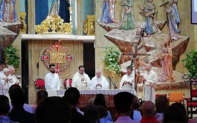 Primera misa de José Carlos López Barba en nuestro Santuario