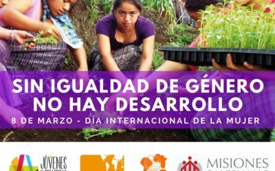 Sin igualdad de género no hay desarrollo