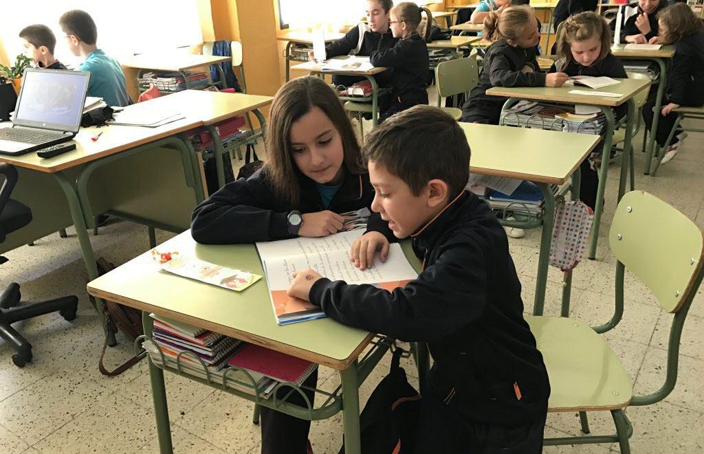 """Proyecto """"Padrinos de Lectura"""" en Educación Primaria"""