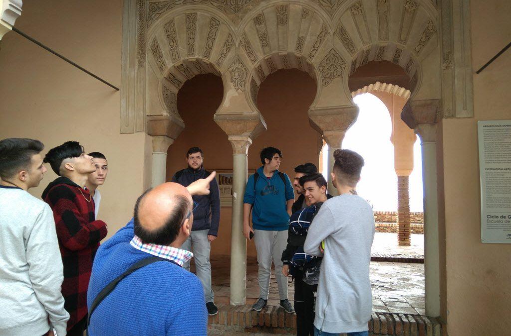 Los alumnos de FPB visitan la Alcazaba de Málaga
