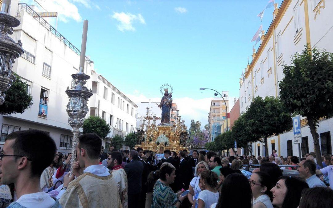 Tallaje Procesión Gloriosa Mª Auxiliadora Coronada 2017