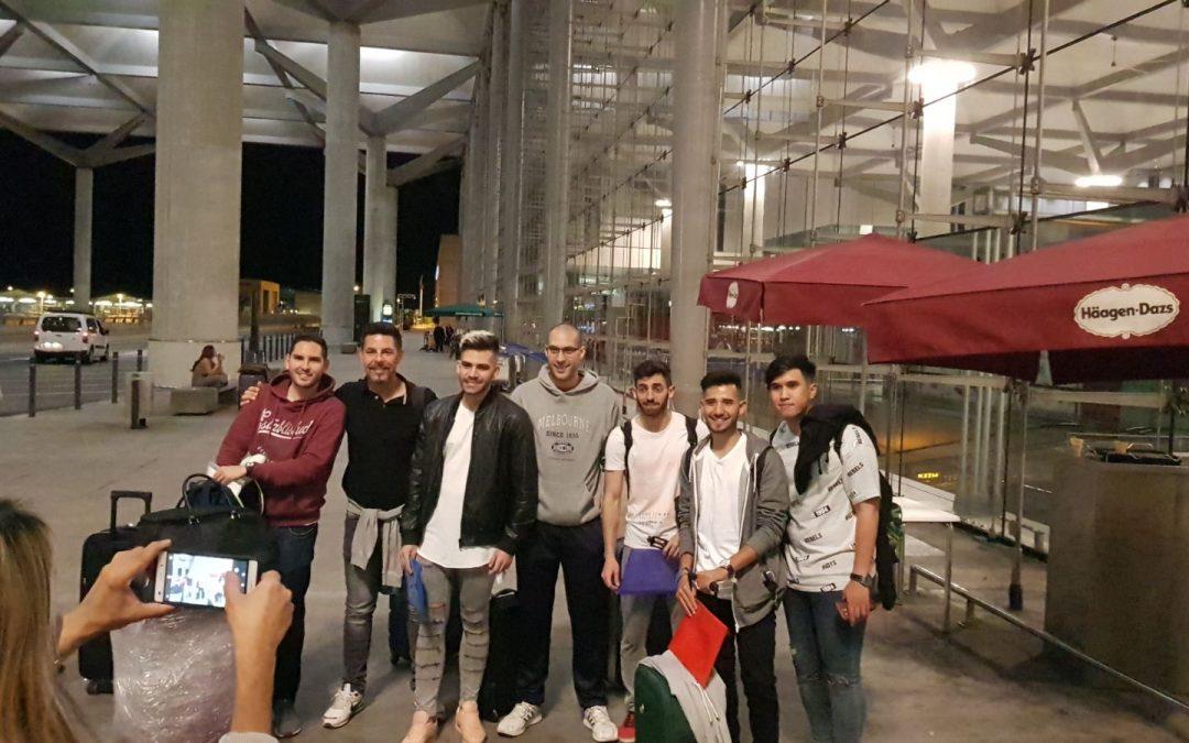 Alumnos de Formación Profesional comienzan las prácticas Erasmus+ en Italia