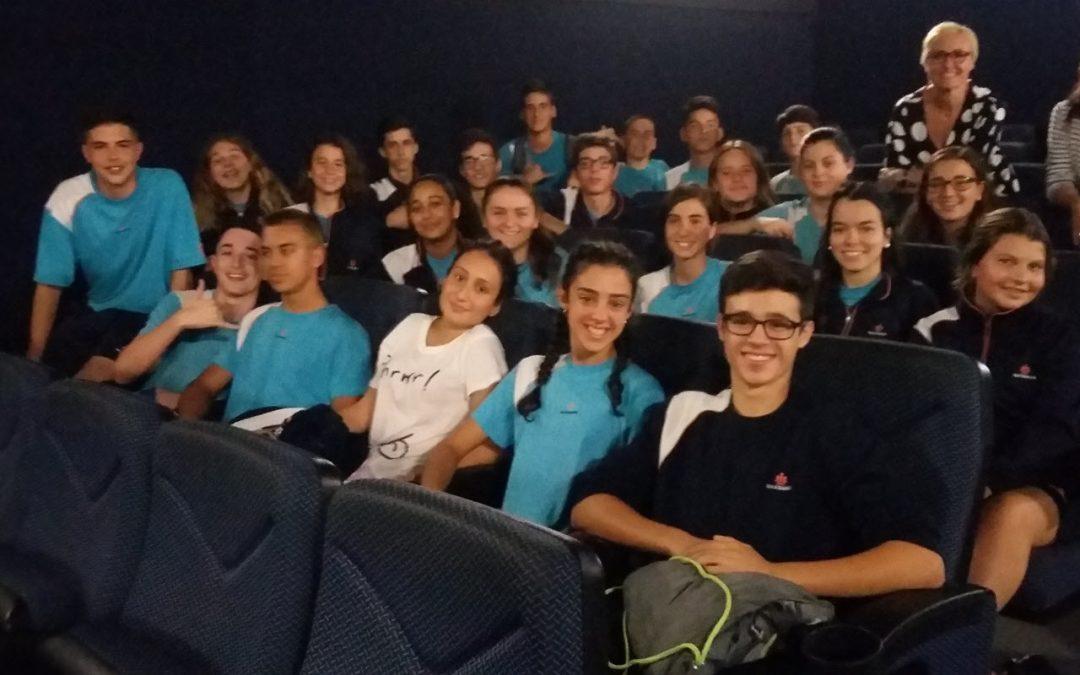 Los alumnos de 4º de ESO disfrutaron en el 23 Festival de Cine Francés