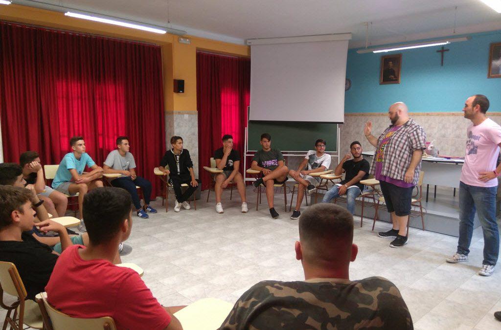 Nuestros alumnos de FPB participan en las Tutorías de Dinámicas de Cohesión Grupal