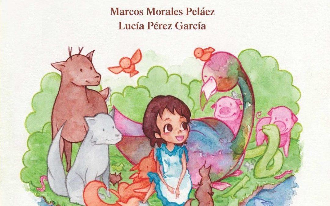 Lucía Pérez, antigua alumna del Colegio Salesiano, presenta su primer cuento infantil
