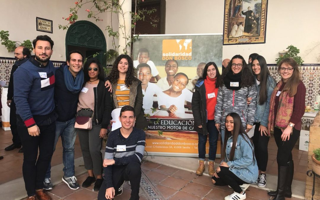 "Sigue la espiral solidaria de la ONGd  Salesiana ""Solidaridad Don Bosco"""