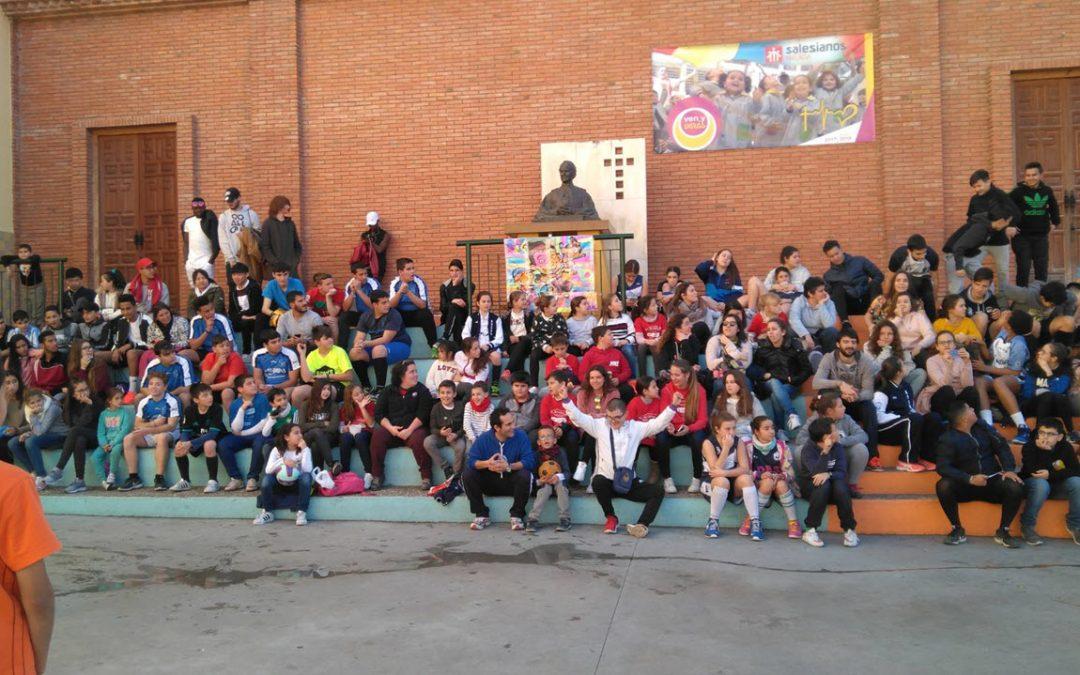 El Movimiento Juvenil Salesiano MJS se hace sentir en Málaga