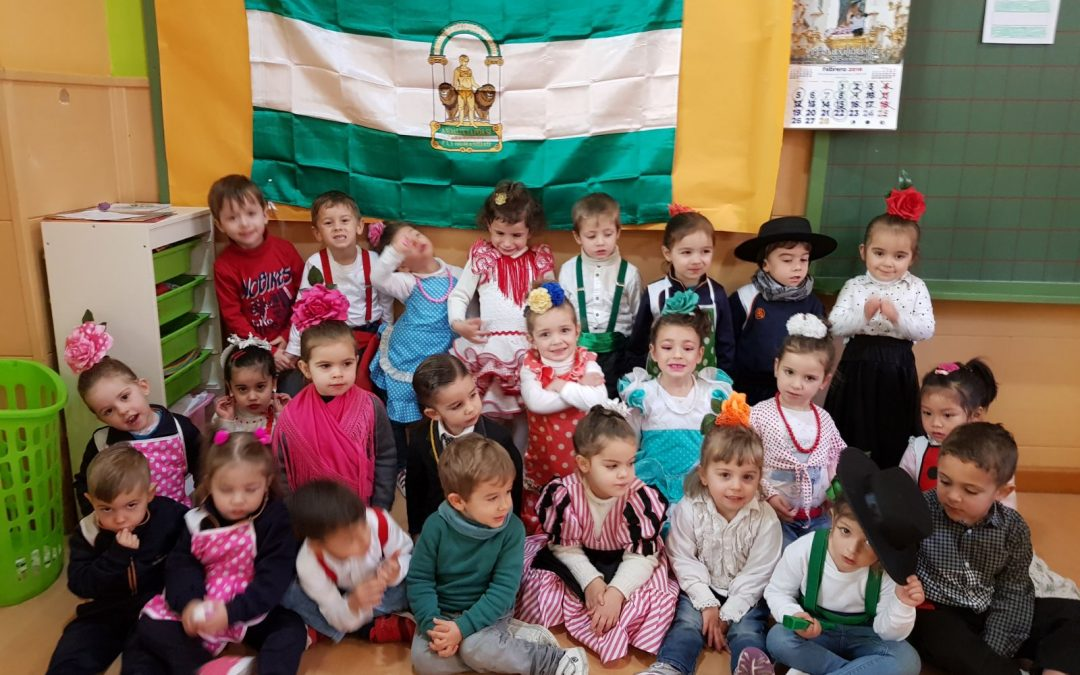 E. Infantil y Andalucía: Andaluces por el cole