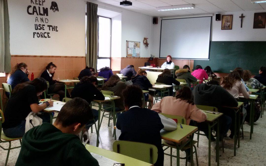 Alumnos de ESO y Bachillerato participan en el Canguro Matemático Europeo