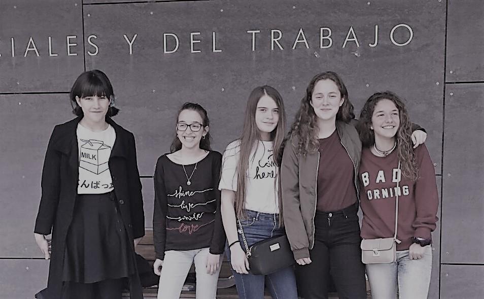 Cinco alumnas de ESO participaron en el Concurso Coca-Cola Jóvenes Talentos