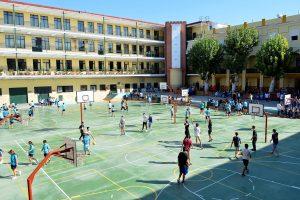 Partido Volley PROFES y ALUMNOS (Secundaria/FP)