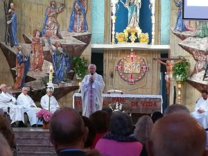Eucaristía conmemoración de Mª Auxiliadora. Adesa