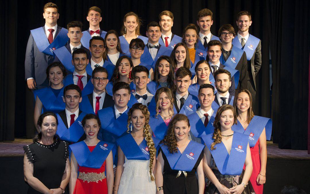 Graduación de los alumnos y alumnas de Bachillerato-Promoción 2016-2018