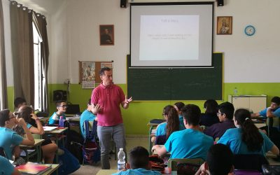 """Formación en """"Presentation Skills"""" en 2º de ESO"""