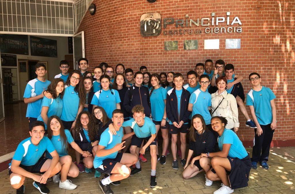 Visita de 2º de ESO al Centro Principia de Málaga