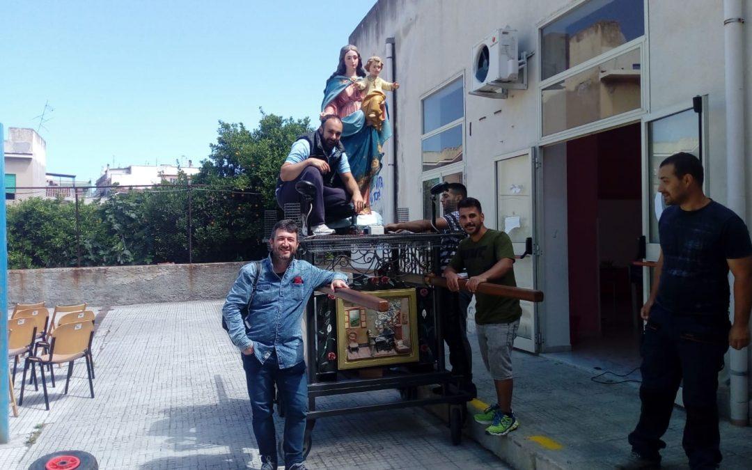 Nuestros alumnos Erasmus+ celebraron María Auxiliadora en Italia