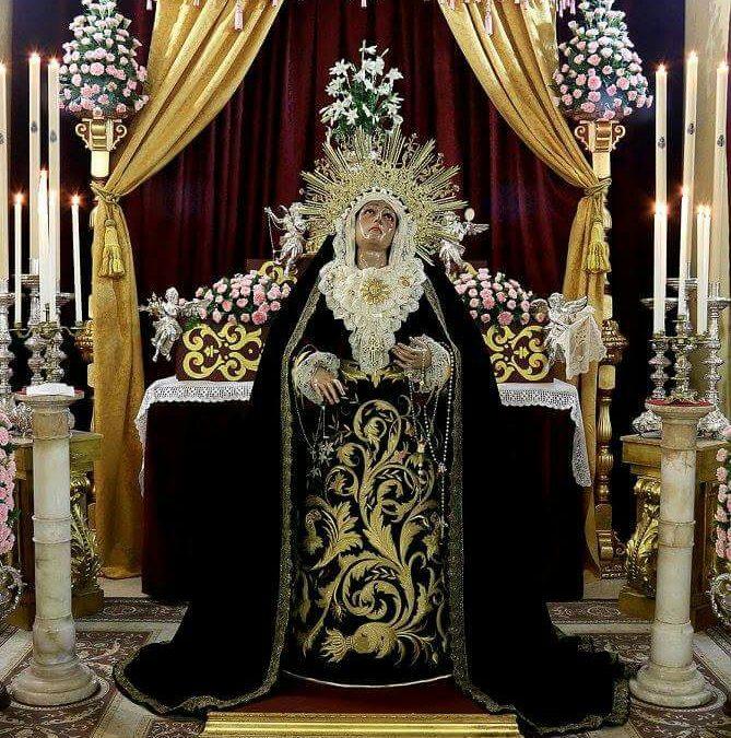 Nuestra Hermandad celebra Besamanos Extraordinario de la Virgen del Auxilio