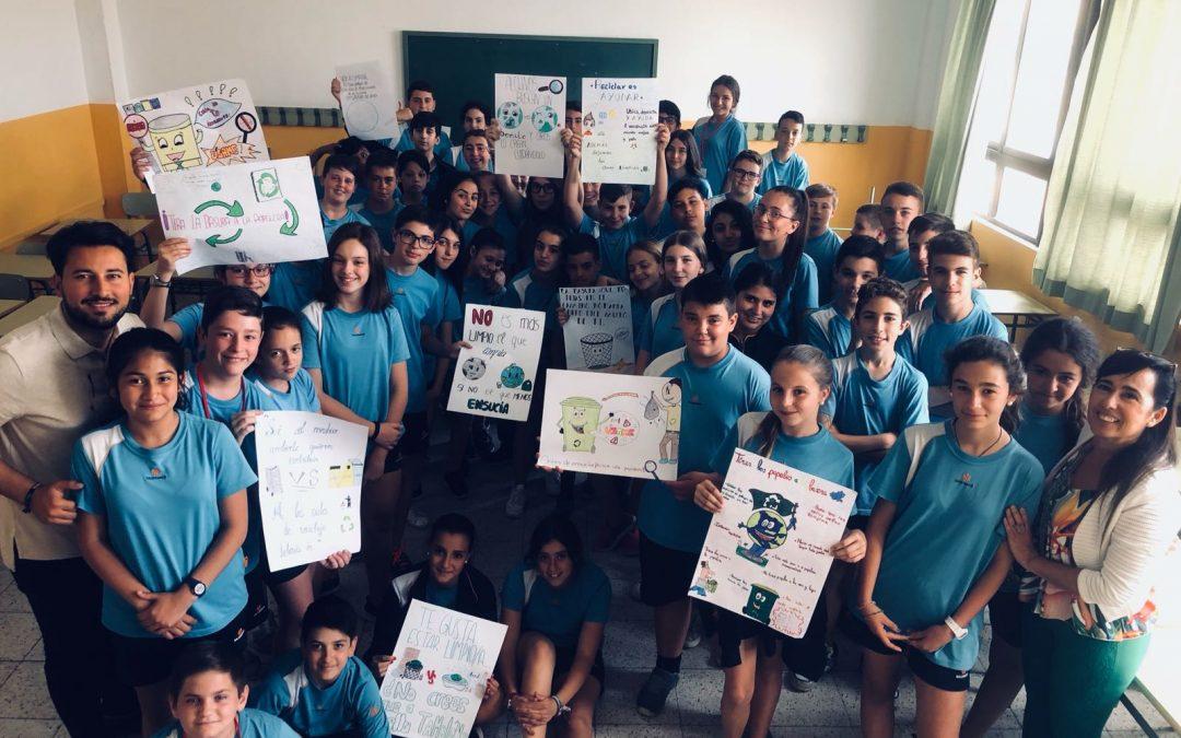 Campaña de limpieza y reciclaje en 1º de ESO