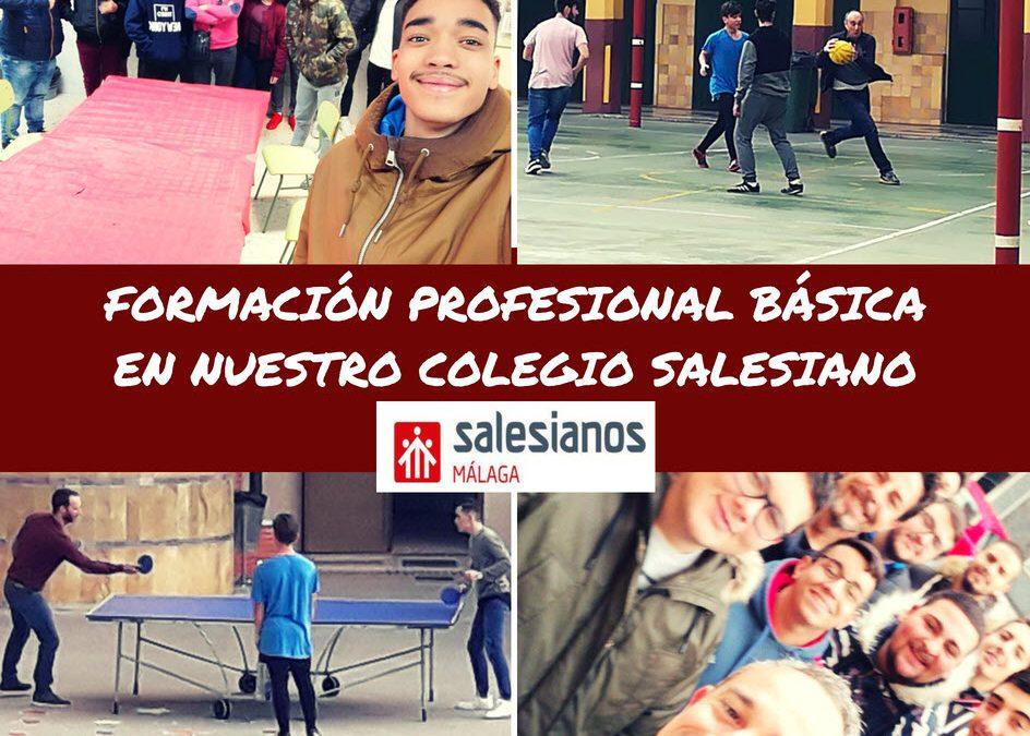La Formación Profesional Básica en Nuestro Colegio Salesiano