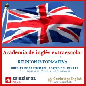 Reunión informativa Inglés Cambridge