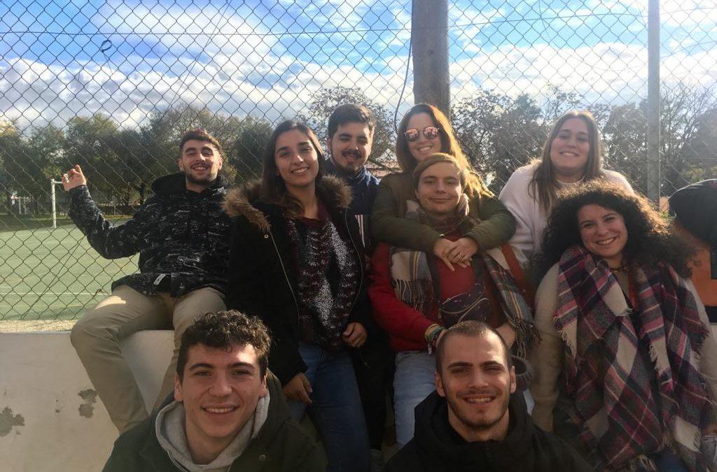 Los animadores de Cristo-Vive de Málaga  participan del Retiro de Adviento de la Inspectoría