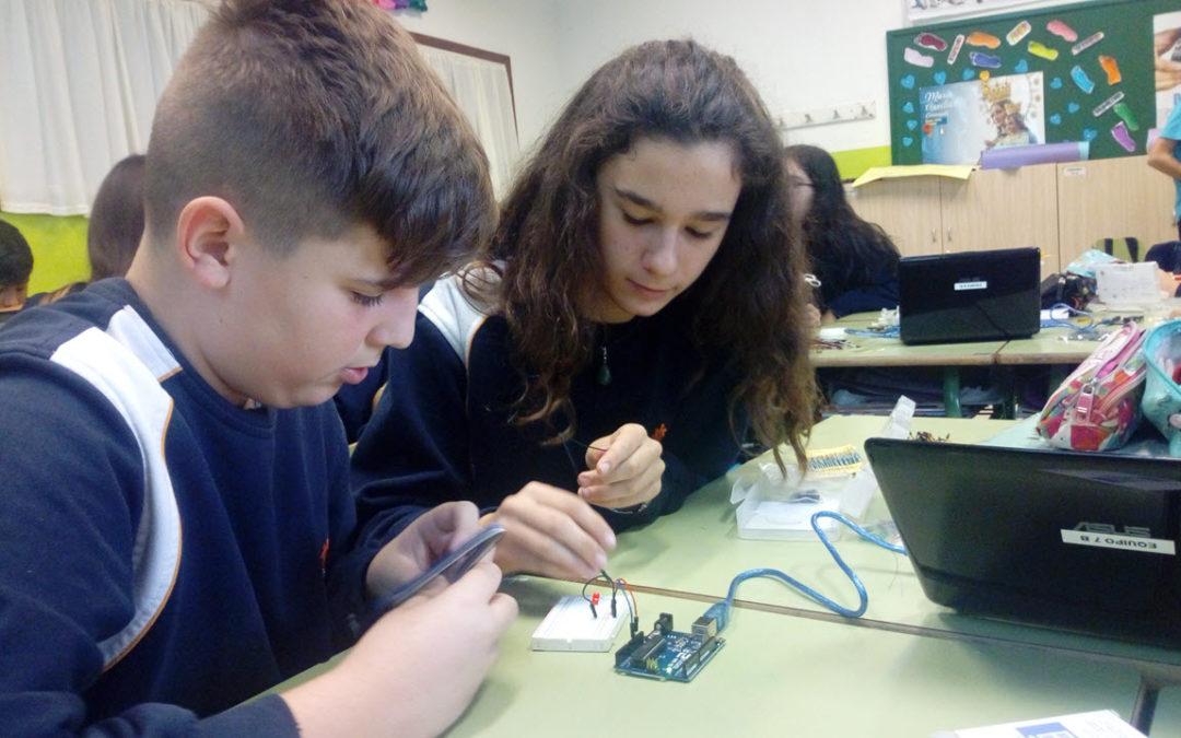 Electrónica y Robótica con Arduino en nuestras aulas de Secundaria