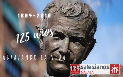 8 diciembre 2018 – 8 diciembre 2019. A toda la FAMILIA SALESIANA de MÁLAGA: ¡FELICIDADES!