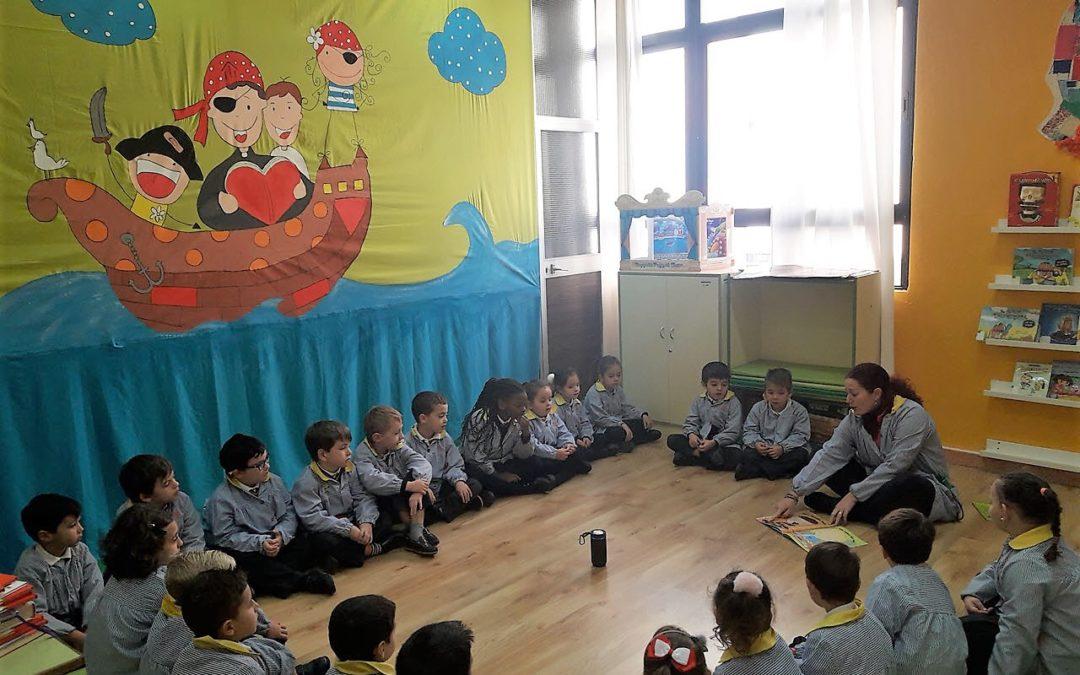 Actividad de bilingüismo, Storytelling de Educación Infantil en la biblioteca
