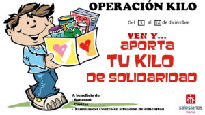 FIN OPERACIÓN KILO y RECOGIDA DE JUGUETES