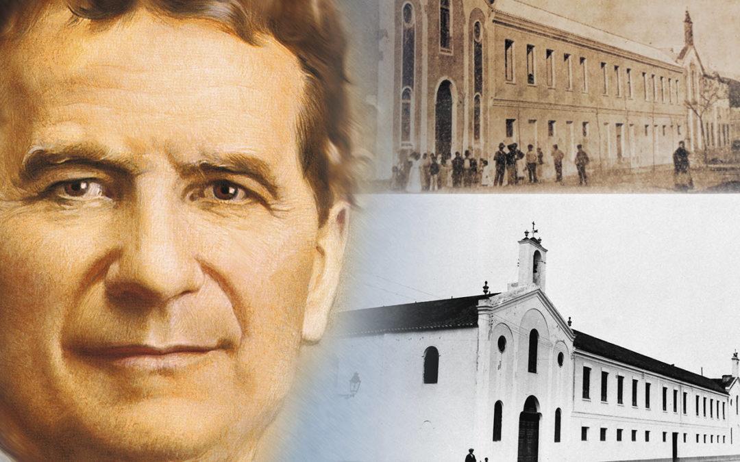 Acto de presentación del himno y  libro del 125 aniversario de Salesianos Málaga