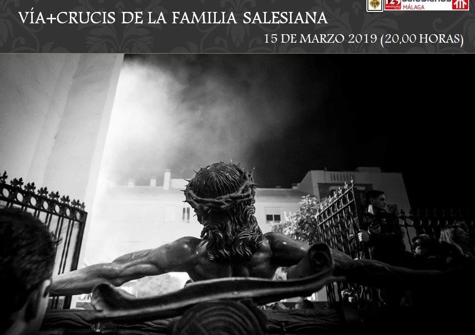 Vía Crucis Solidario de la Familia Salesiana in memoriam César Fernández