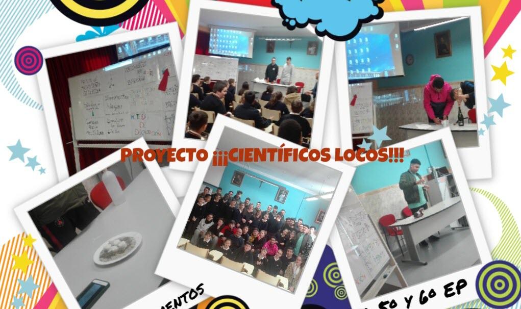 """Proyecto """"Científicos Locos"""" en 2º de Formación Profesional Básica"""