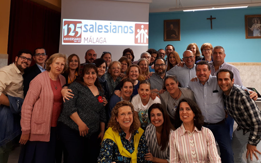 Encuentro de D. Ángel Asurmendi con la Familia Salesiana de Málaga