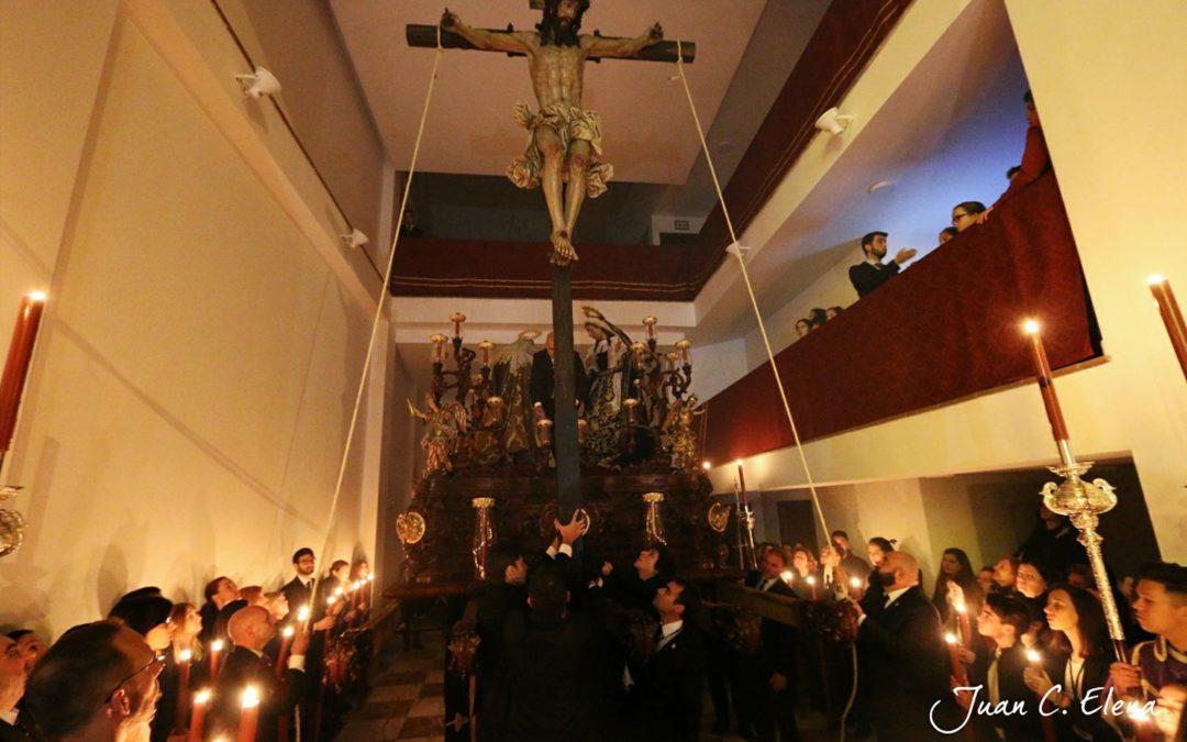 Traslado de los Titulares de nuestra Hermandad Salesiana al Trono Procesional
