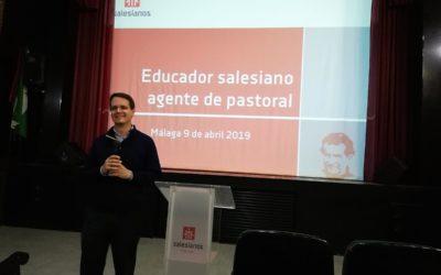 D. Miguel Canino visita Salesianos Málaga