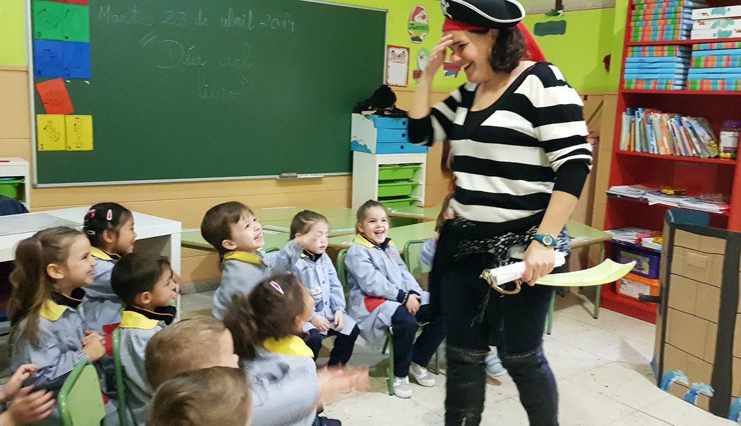 Educación Infantil celebra el día del libro con un cuentacuentos en familia