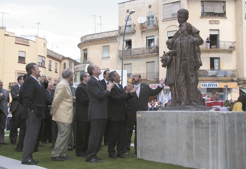 El monumento a Don Bosco cumple diez años