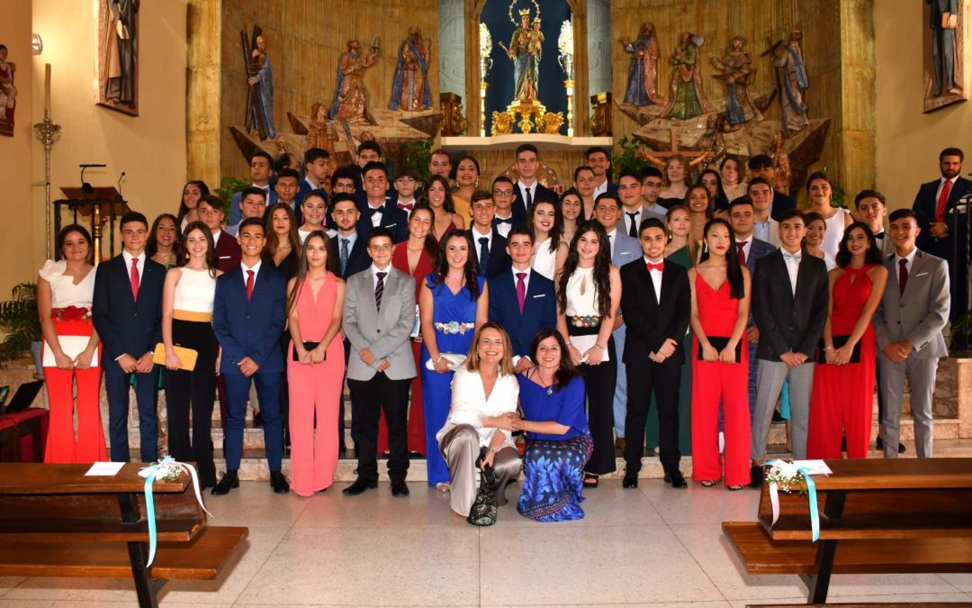 Acto final de etapa de Secundaria Obligatoria