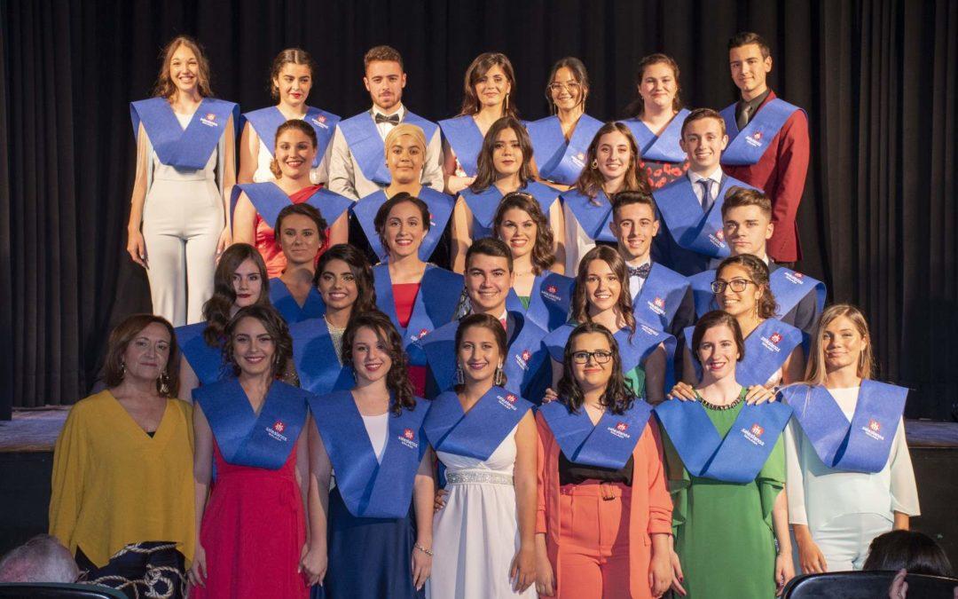 Acto de graduación de Bachillerato. Promoción 2017-2019