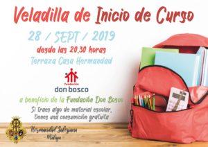 Veladilla de Inicio de Curso a beneficio de la Fundación Don Bosco