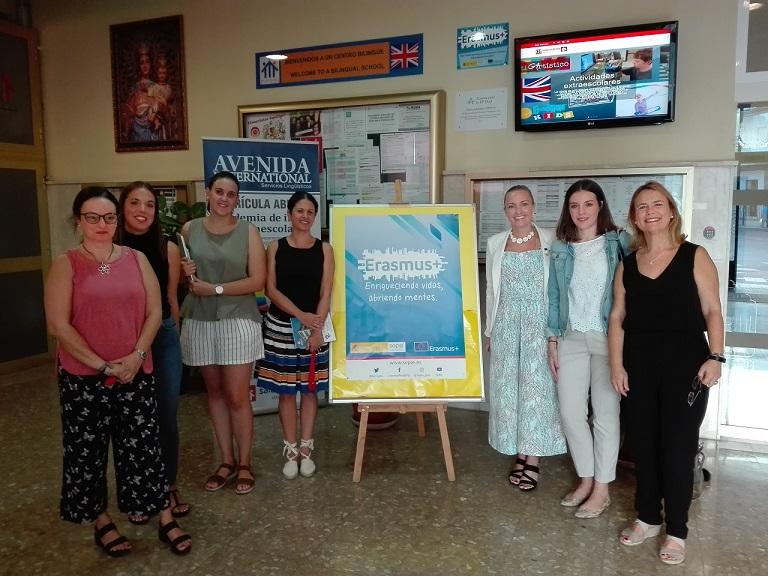 Visita de Moana Widell, coordinadora de proyectos Erasmus+