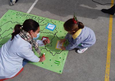 Día de Andalucía 2021. Colegio concertado San Bartolomé (Salesianos Málaga)