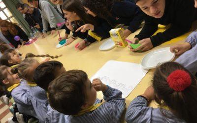 Crecemos con Ciencia: Infantil visita el laboratorio