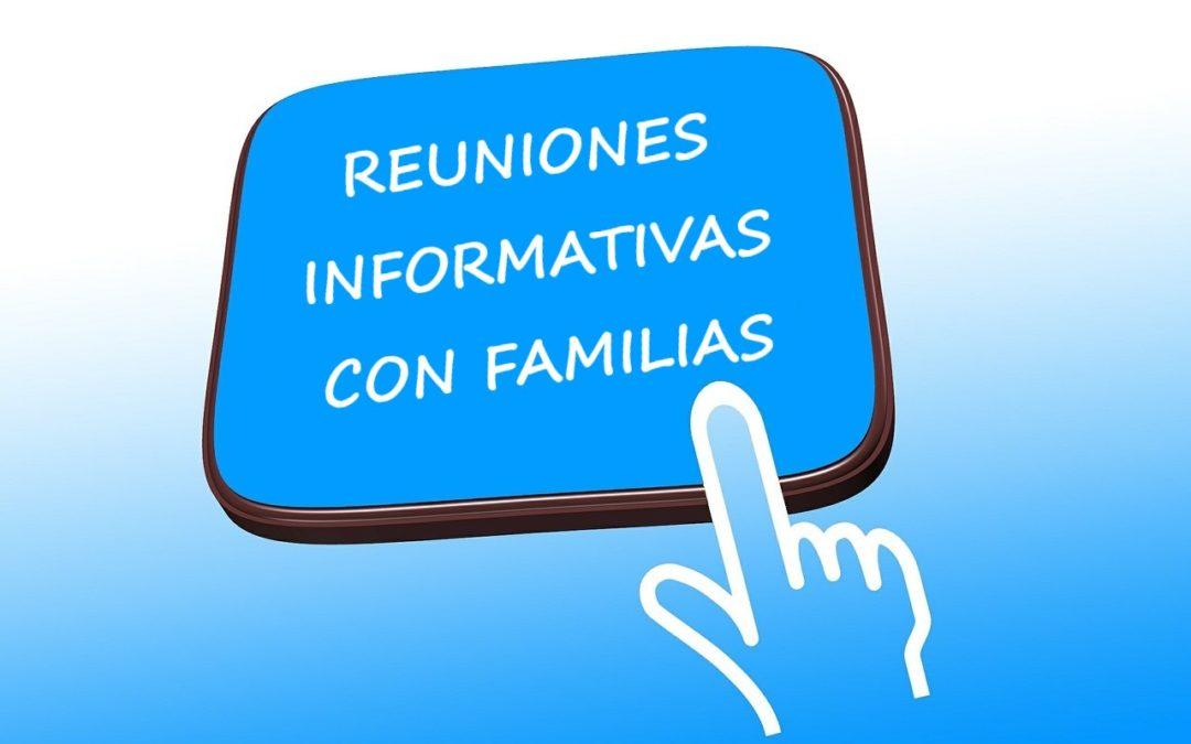 Reuniones informativas con familias