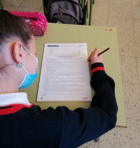 Pruebas de evaluación externa en inglés. Educación Primaria.