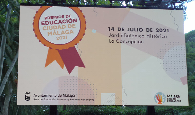 Premios de Educación «Ciudad de Málaga» 2021