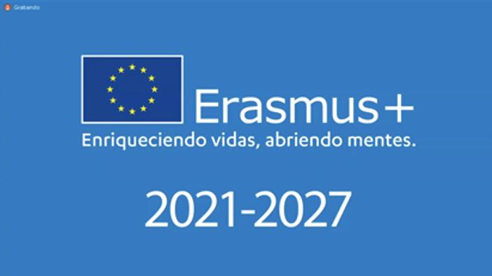 WEBINAR  PARA LA SOLICITUD de Acreditaciones Erasmus en Educación Escolar.